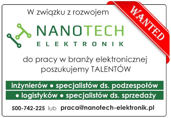 Praca w Nanotech Elektronik